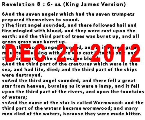 BOOK OF REVELATION, DECODED: DEC 21 2012 AD